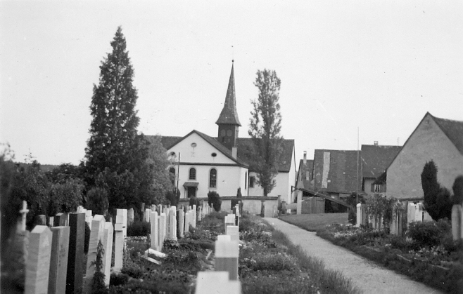 Beringen Friedhof Kirche