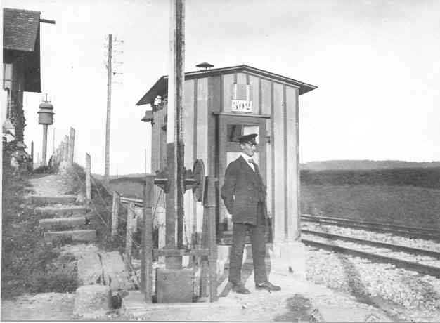 Beringen H.Bollinger Bahnwaerterhaus