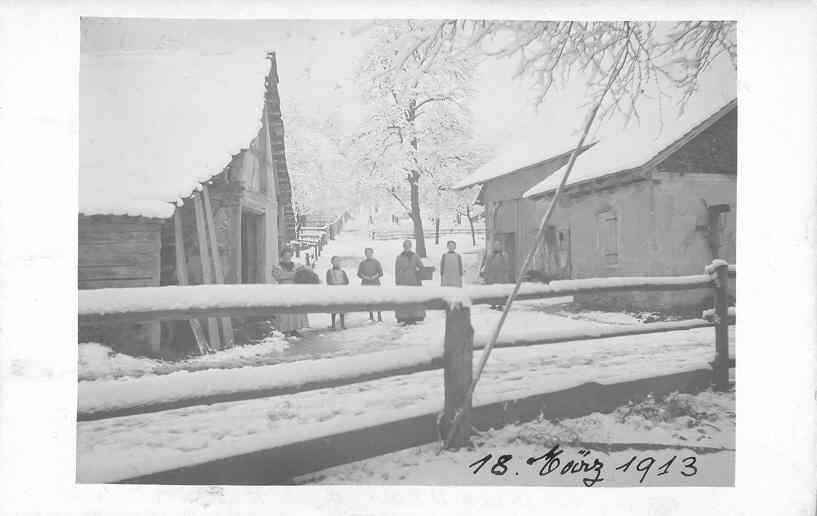Beringen Haargasseschopf 1913