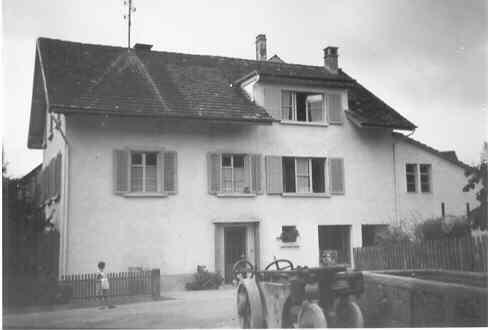 Beringen Herrengasse 1 Umbau 1947-48