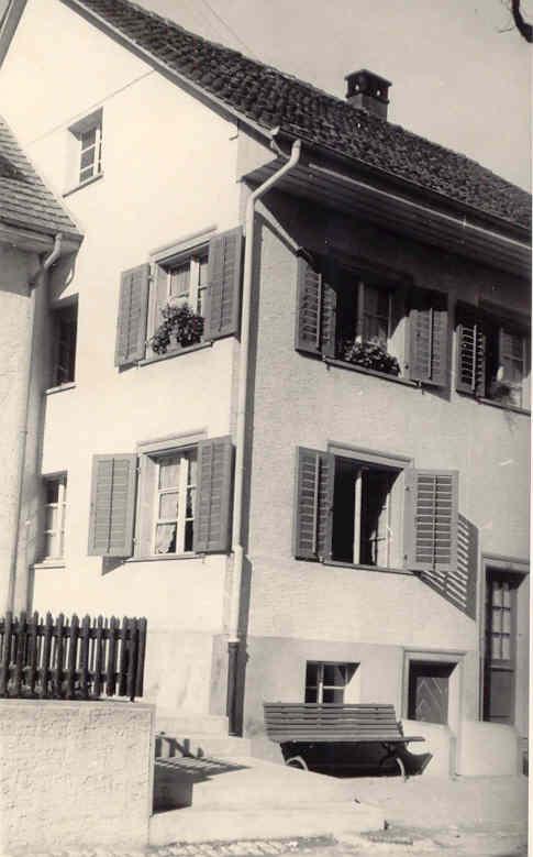 Beringen Kastanienbaum Haus Roellin