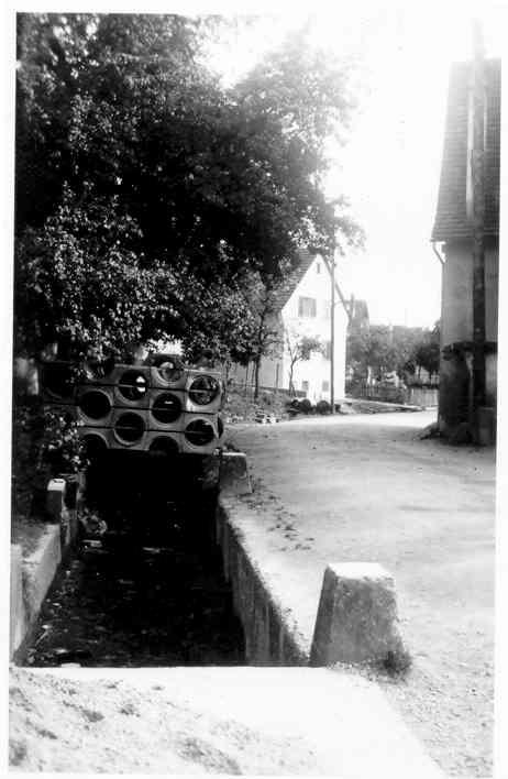 Beringen Oberdorf Dorfbach