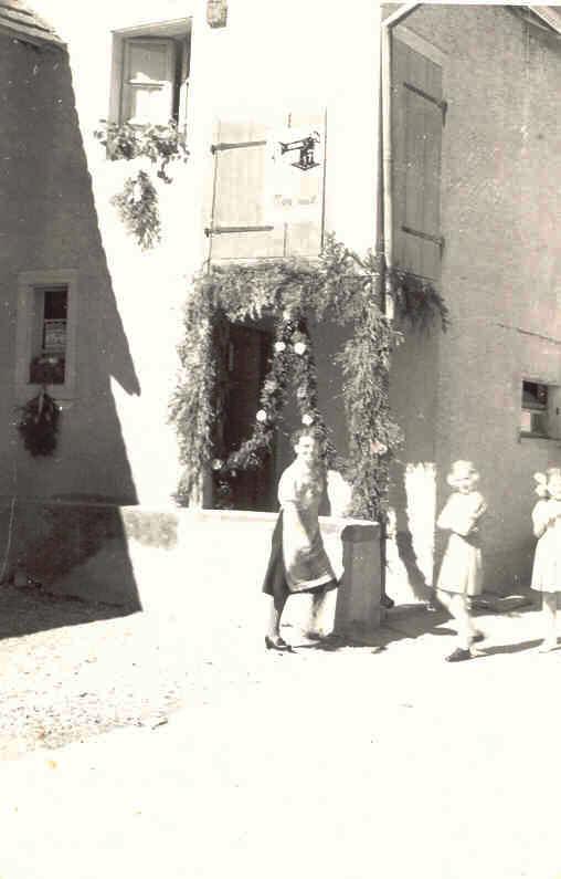 Beringen Schleitheimerstrasse Rohrbasser 1962