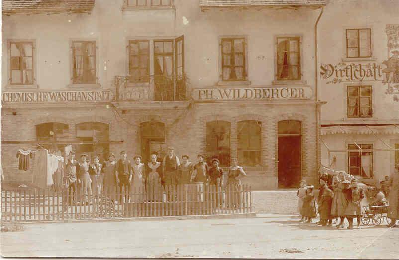 Beringen Wildberger Philipp Waescherei 1900