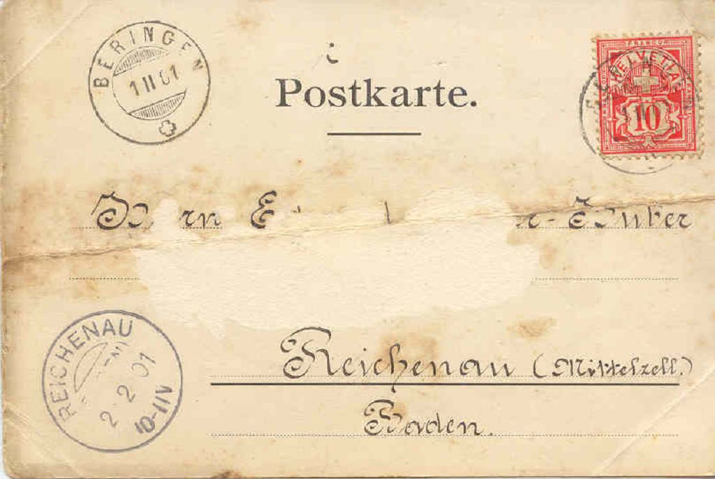 Beringen Ortsbild 1901 02 01 Adr