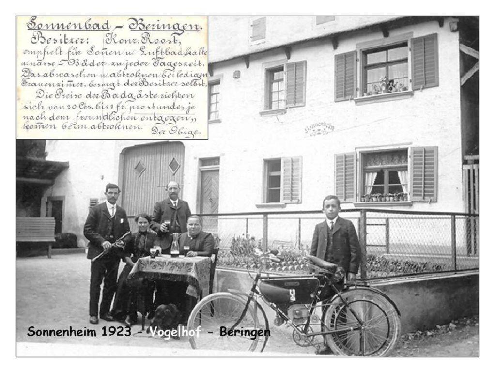 Beringen Sonnenheim 1923 Vogelhof