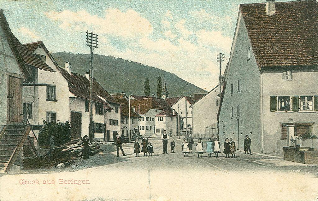 Beringen Unterdorf 1917