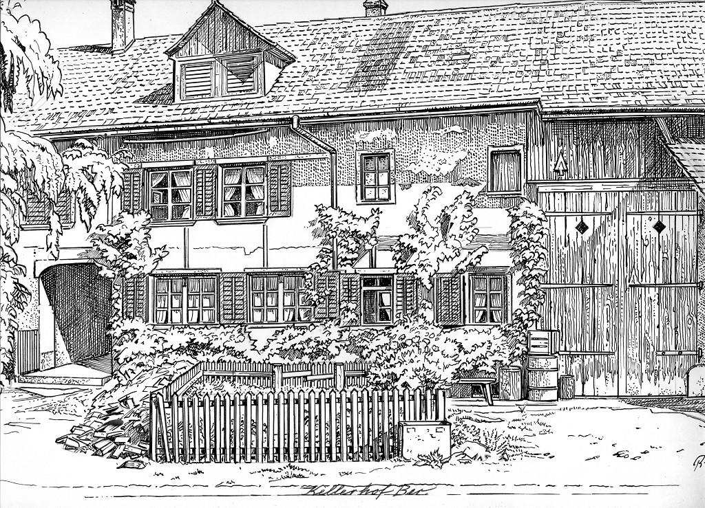 Kellerhof mit Kellerfalle