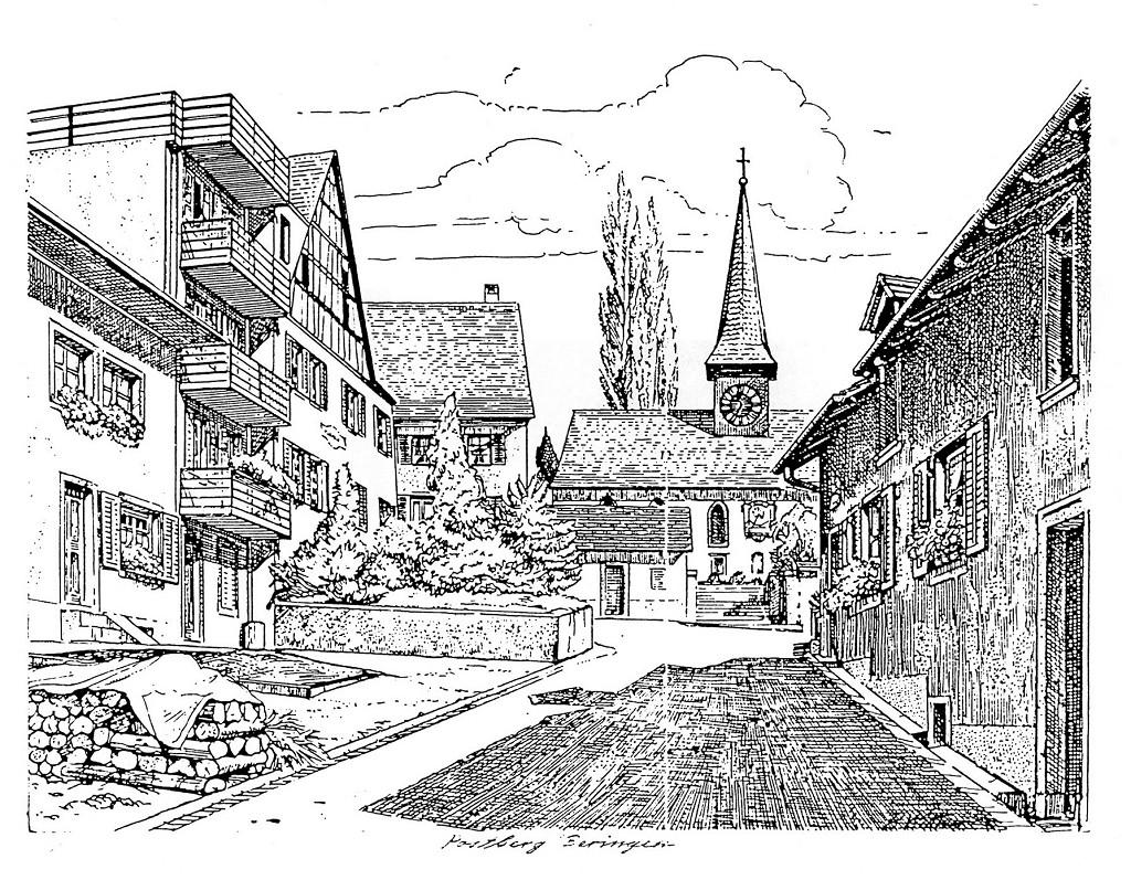 Postberg mit Kirche