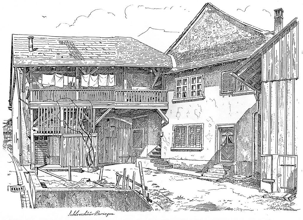 Schloss mit Zehntenscheune