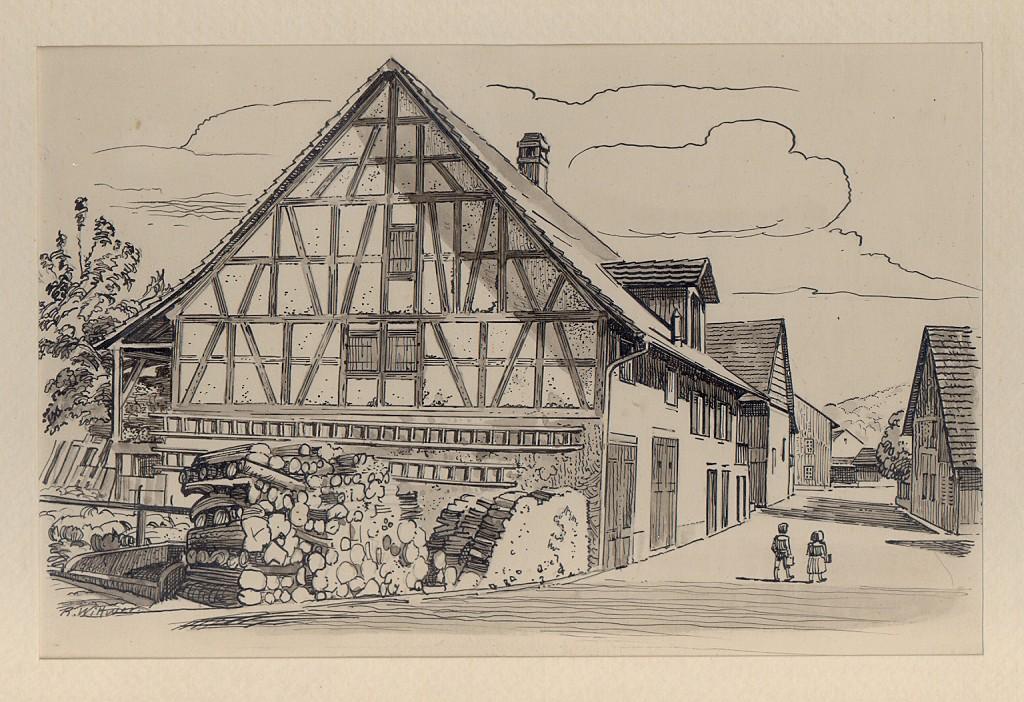 Schneiderhuus be der Schmidstube