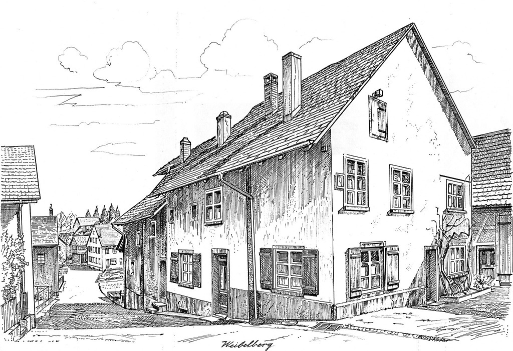 Weibelberg bei der Kirche